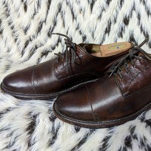 Frye Boots Men's Dress Shoes Size 9M Brown Oxfords